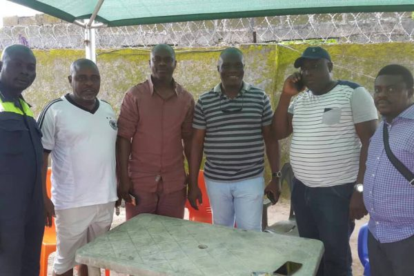 Obire Support Group  and Progressive Peoples Alliance (PPA) Ground Breaking Team Visitation To Warri North Local Government Area.