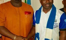 Delta PPA Guber Aspirant Felicitates With PPA National Chairman – Chief Peter Ameh.