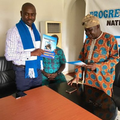 Delta PPA: Obire picks governorship form, assures youths of great attention