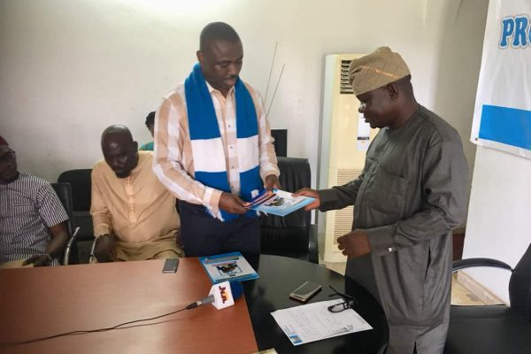 PPA guber aspirant submits form…Assures Deltans of  robust economy, if elected.