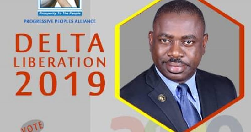 2019: Obire, PPA Guber Candidate, promises Deltans N30,000 minimum wage