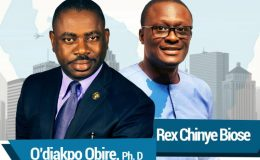 Delta Guber 2019 : Dr. Obire Unveils Running Mate