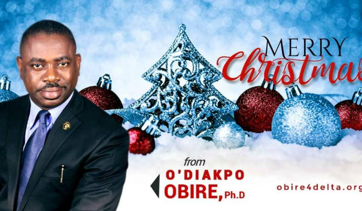 Christmas 2018: Dr. Obire Felicitates With Delta people